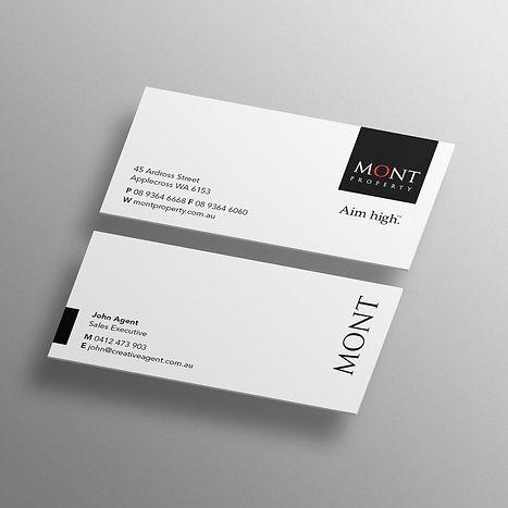 Mont Property branding design copywriting marketing