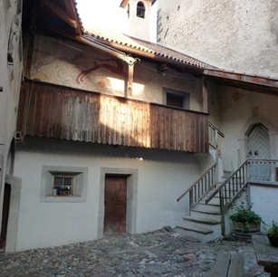 Chapel courtyard