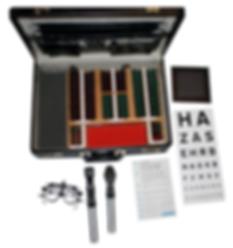 Home sight test equipment
