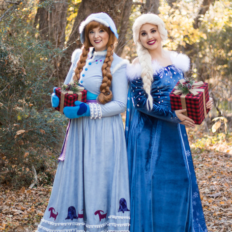 Ice Sisters, Holiday Dresses