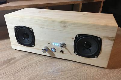 Portable Audio Ampifier Eletronics Project
