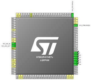 LCD1602A - STM32F4 Discovery