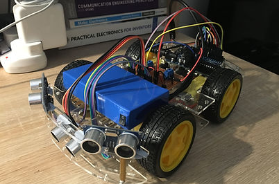 Arduino Self Driving Car