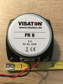 Visaton FR8 Ohm Speaker