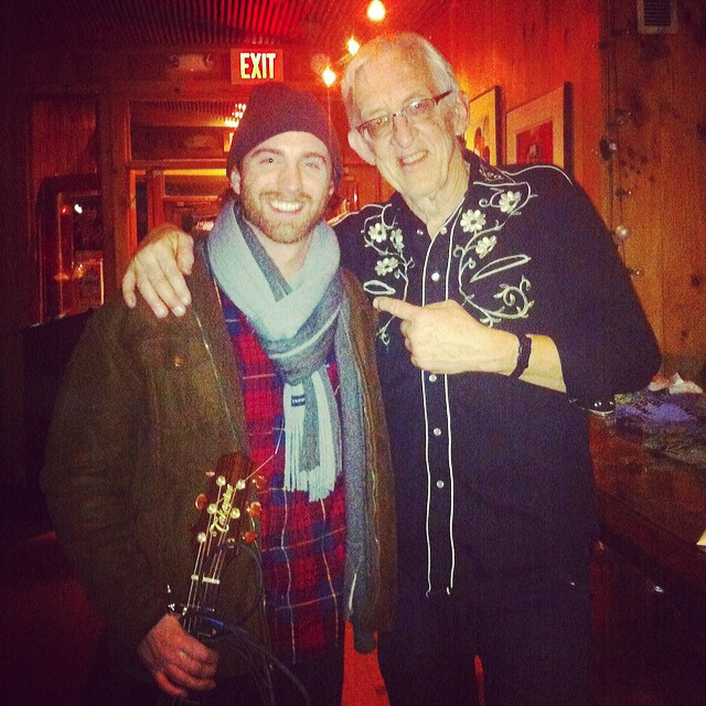 With Bill Kirchen