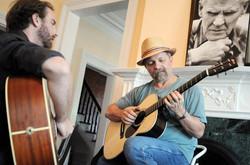 With Toby Walker - Scranton, PA 2012 - Photo by Jim Gavenus