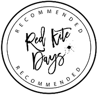 Red Kite Days Recommended Badge png file
