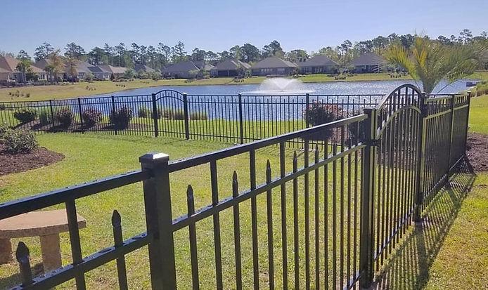 fence claremont aluminum fence