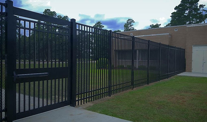 aluminum fence aluminum gat