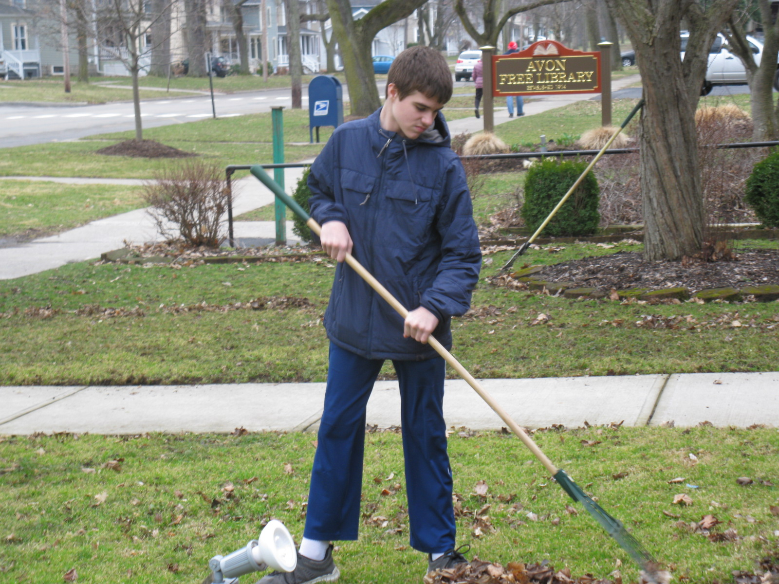 Making our grounds beautiful!