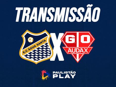 AO VIVO - Água Santa x Grêmio Audax