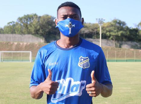 Atacante Lucas Silva chega ao Água Santa