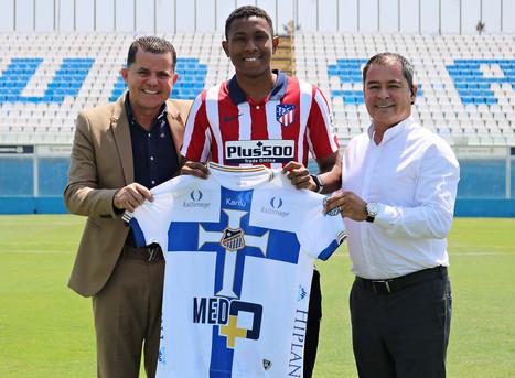 Promessa do Netuno, Alaba é contratado pelo Atlético de Madrid