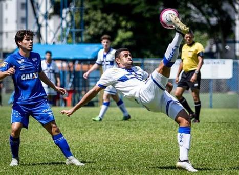 SUB-20: Água Santa encerra série de amistosos com vitória sobre o Cruzeiro, em Belo Horizonte