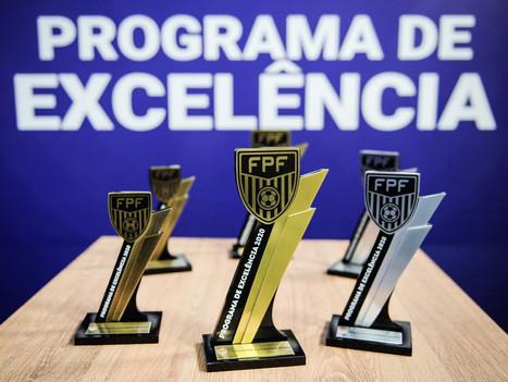 Pelo segundo ano consecutivo, Netuno recebe o troféu Ouro do Programa de Excelência da FPF