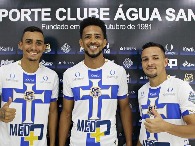 Luis Ricardo, Dadá e Luan Dias estão de volta ao Água Santa