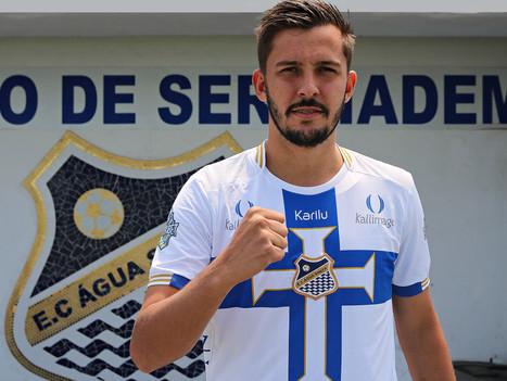Giovanni Pavani é mais um reforço do Água Santa para a Copa Paulista