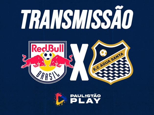 AO VIVO - Red Bull Brasil x Água Santa