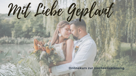 Onlinekurs zur Hochzeitsplanung