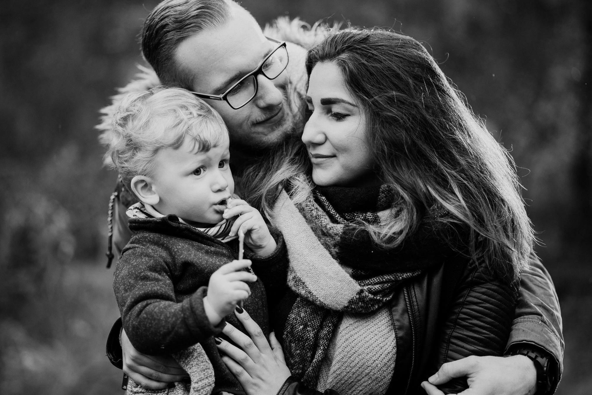 Familienfotos im Wald-1