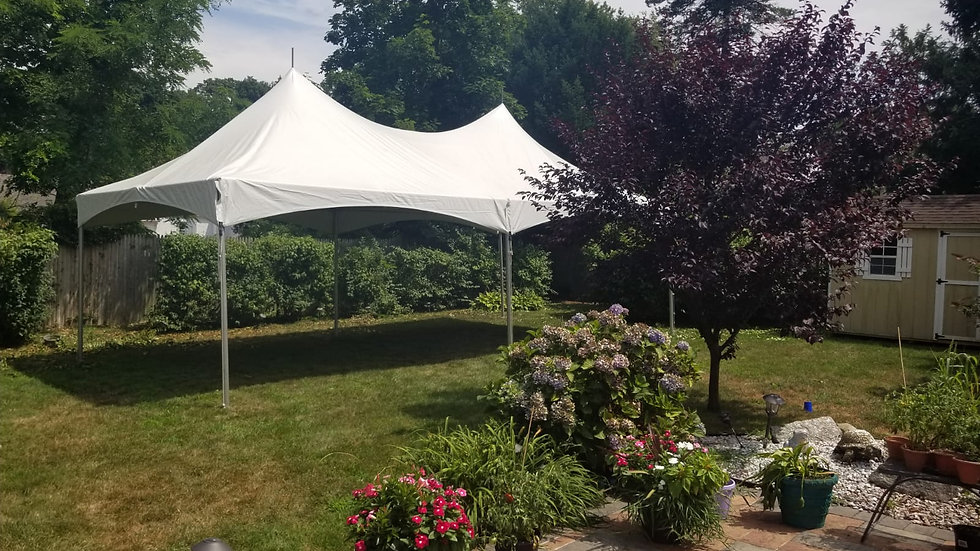 20 x 30 Rope & Pole Tent