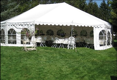 Tent with Sides
