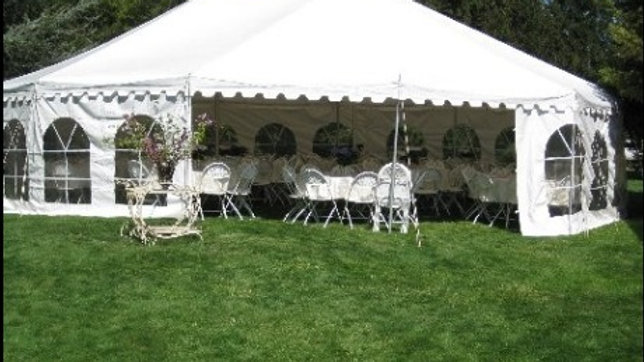 20 x 20 Rope & Pole Tent