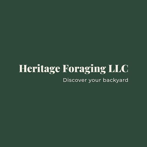 Heritage Foraging LLC sticker