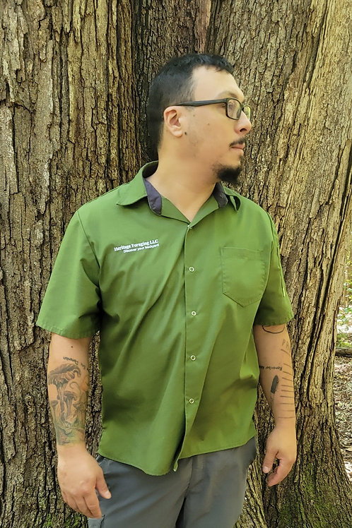"Heritage Foraging Snap Front ""Kitchen Style"" Shirt"