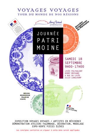 18 septembre 2021  JOURNEES EUROPENNES DU PATRIMOINE