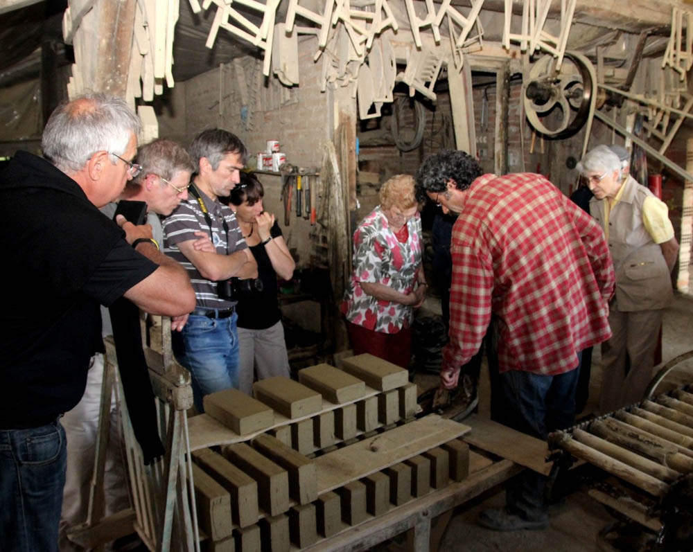 Visite Tuilerie / Poterie Royer