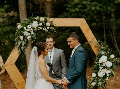 Dreamy Boho Wedding | Backyard Intimate Wedding | Grace J Photo