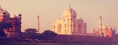 Fabulous Taj Mahal from the Yamuna River Solo women tours