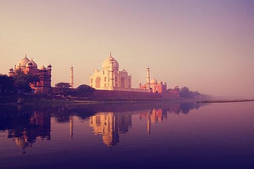 Détour au Taj Mahal