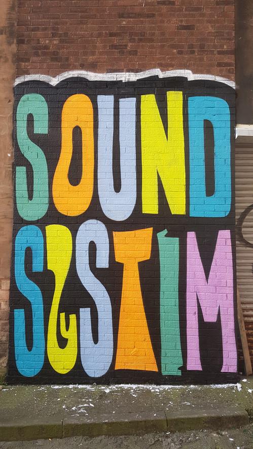 """Soundsystem"" Contrast Mural Festival Liverpool"