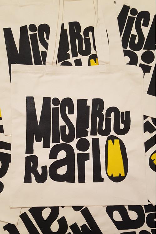 Misery Rail Tote Bags