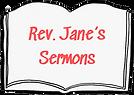 Rev Jane's Sermons book.png