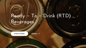 New Course Assignment:     R-T-D Beverages