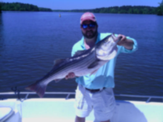 West Point fishing guide, James Jordan Guide Service