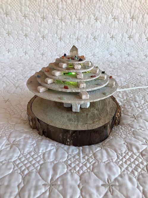 Luminária Nave de Pedra