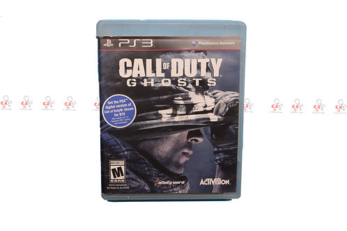 Call of Duty: Ghosts (Pre-Owned) Ps3