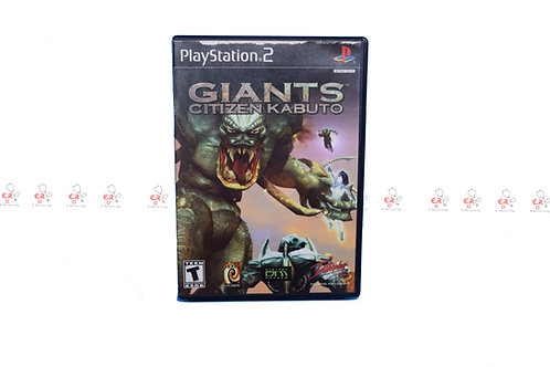 Giants: Citizen Kabuto (Pre-Owned) Ps2