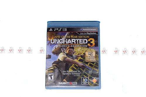 Game Of The Year Edition Uncharted 3 (Pre-Owned) Ps3