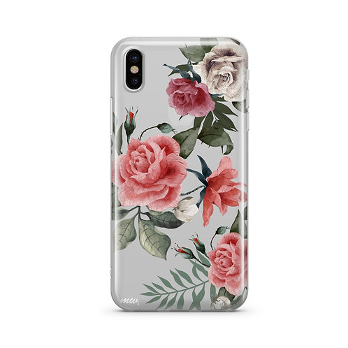 Petals iPhone & Samsung Clear Phone Case Cover