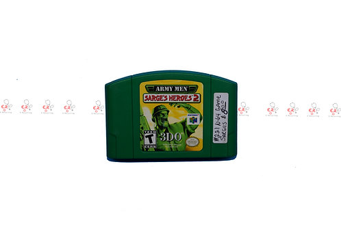 Army Men Sarge's Heroes 2 (Pre-Owned) N64