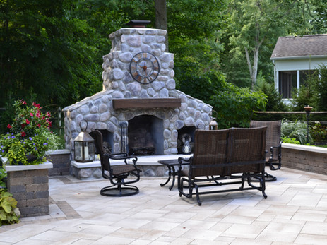 """""""Over the past 23 years, we have used Benchmark exclusively for our residential and commercial lawncare and maintenance and landscape design and construction. Benchmark has helped us maintain a beautiful green and weed-free lawn and landscape at each of our three homes, and they've helped us personalize our outdoor space with creative and well-executed landscape designs. We can certainly attest to Benchmark's thoughtful design, high quality workmanship and unmatched integrity and professionalism. We will continue to call Benchmark for all of our residential and commercial outdoor landscape design and construction needs and we recommend them without reservation to all of our family and friends."""" -Kelly & Kristen Fox"""