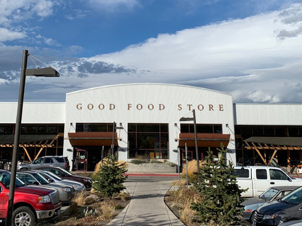 Good Food Store Commercial Roof