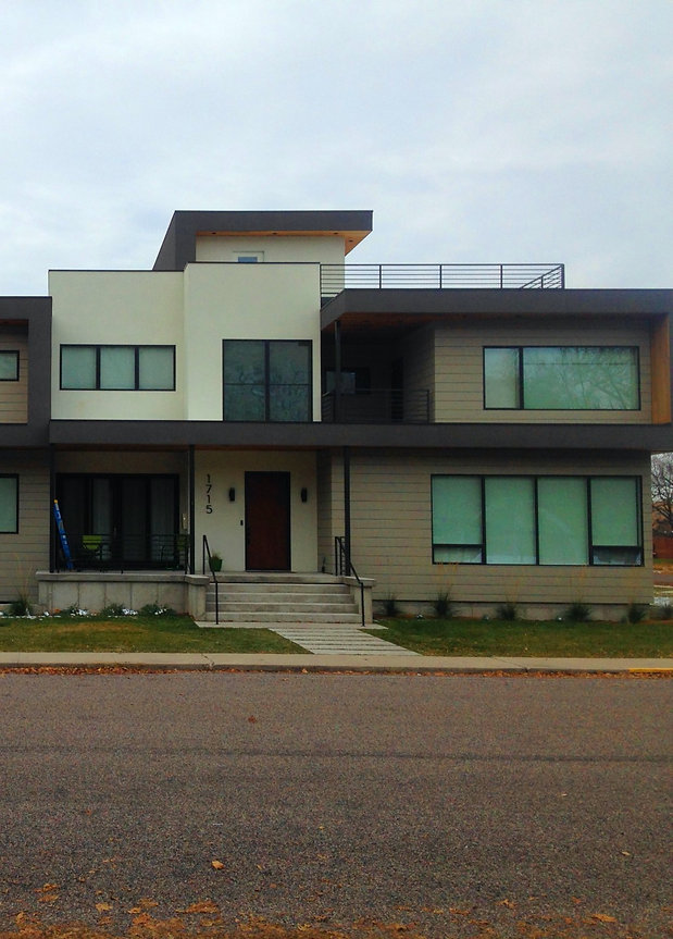 Flat roof house Missoula