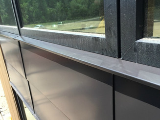 Flat-panel siding