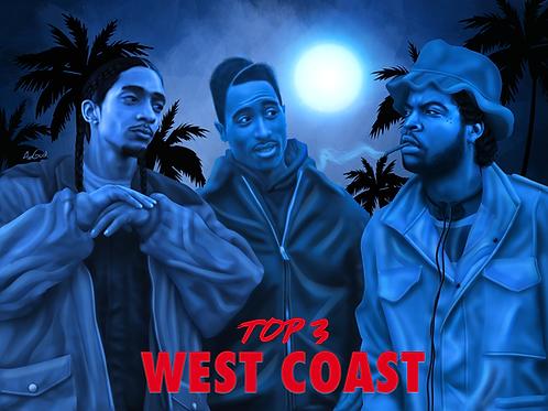 Top 3 West Coast Canvas
